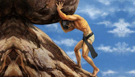 The Sisyphus Syndrome